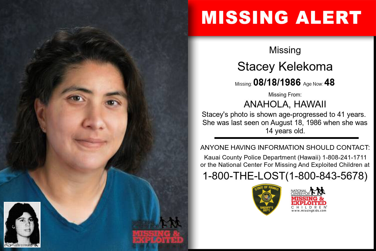 STACEY_KELEKOMA missing in Hawaii