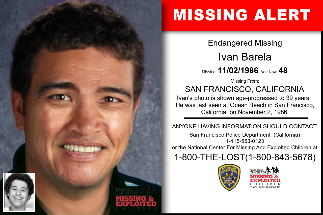 Ivan_Barela missing in California
