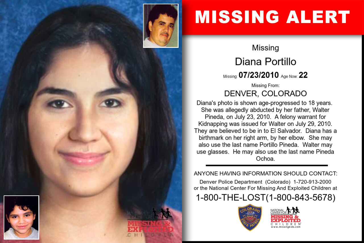 Diana_Portillo missing in Colorado