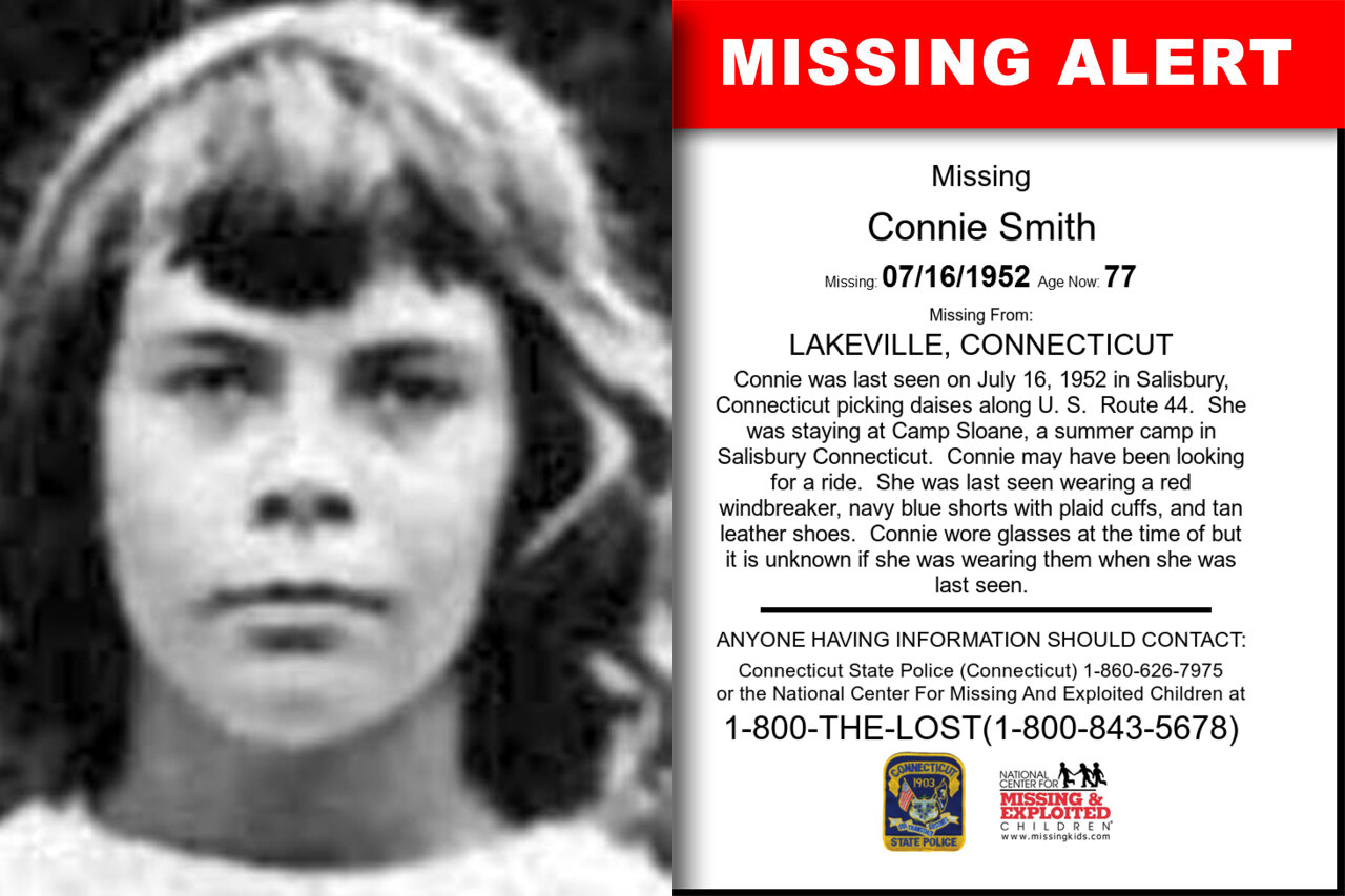 Connie_Smith missing in Connecticut