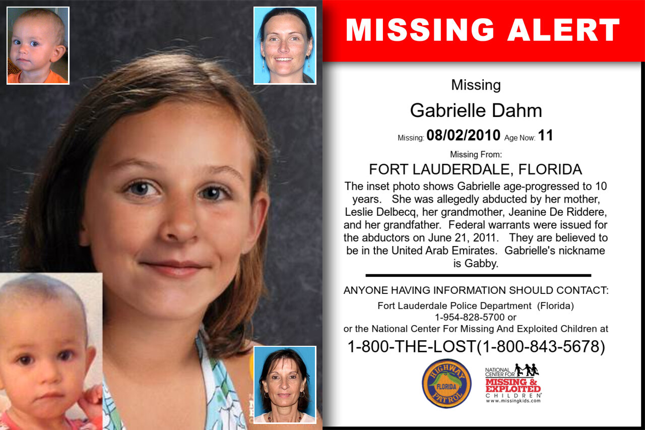 GABRIELLE_DAHM missing in Florida