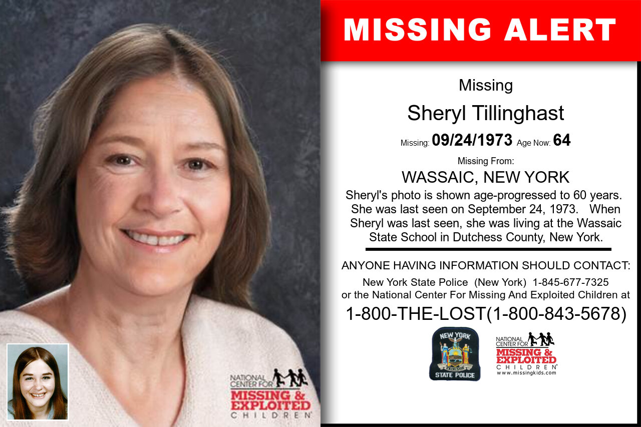 SHERYL_TILLINGHAST missing in New_York