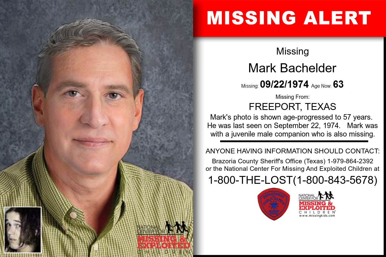 Mark_Bachelder missing in Texas