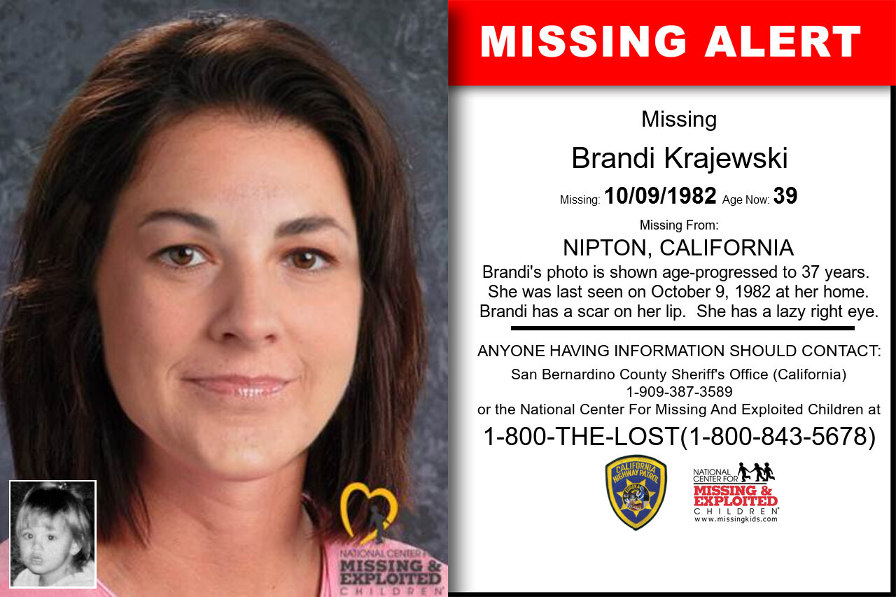 BRANDI_KRAJEWSKI missing in California