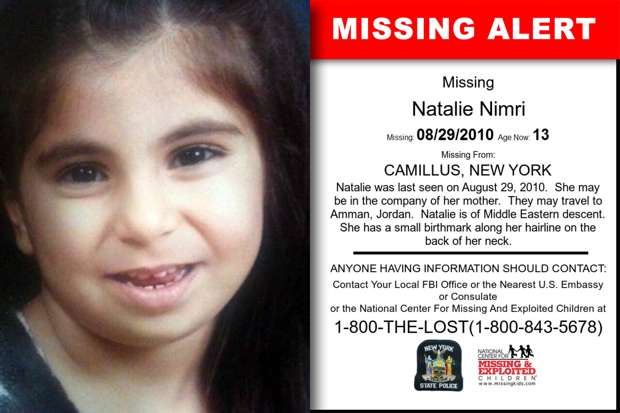 NATALIE_NIMRI missing in New_York