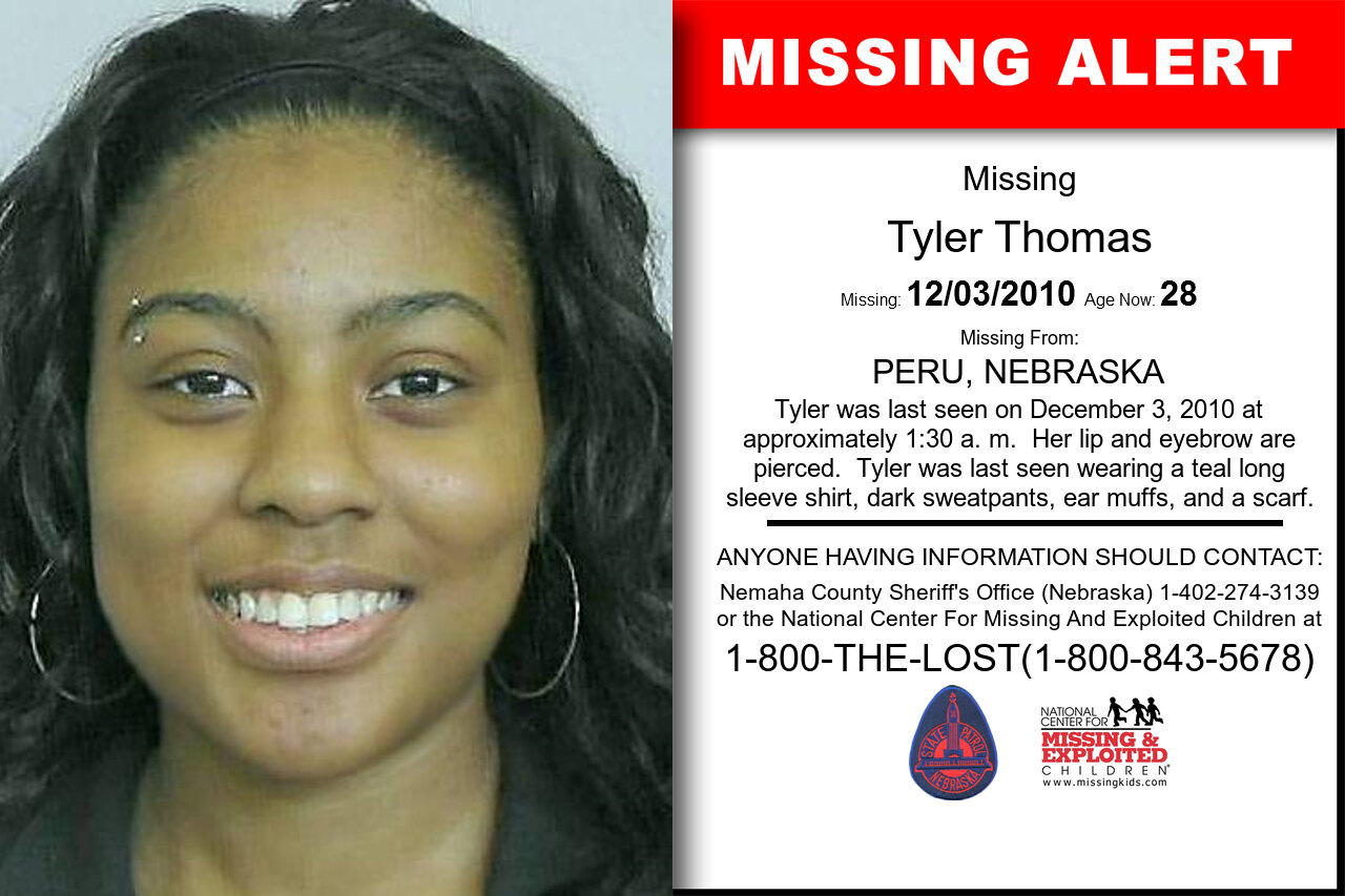 Tyler_Thomas missing in Nebraska