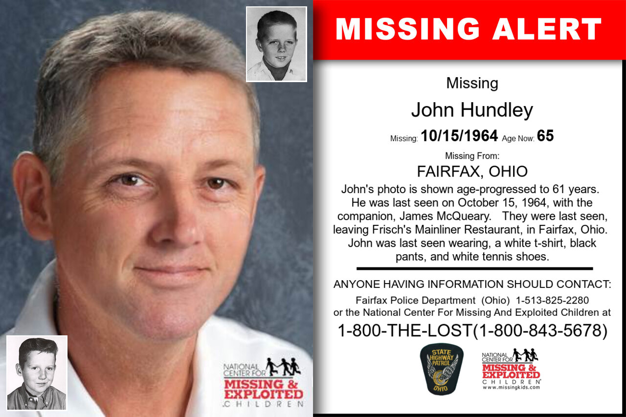 John_Hundley missing in Ohio
