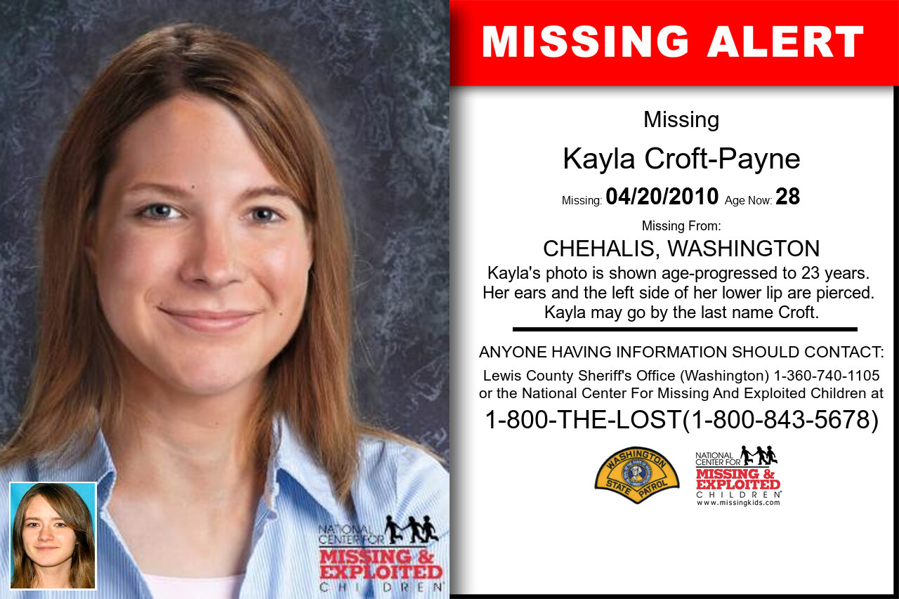 KAYLA_CROFT-PAYNE missing in Washington
