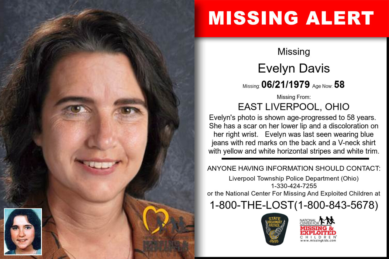 EVELYN_DAVIS missing in Ohio