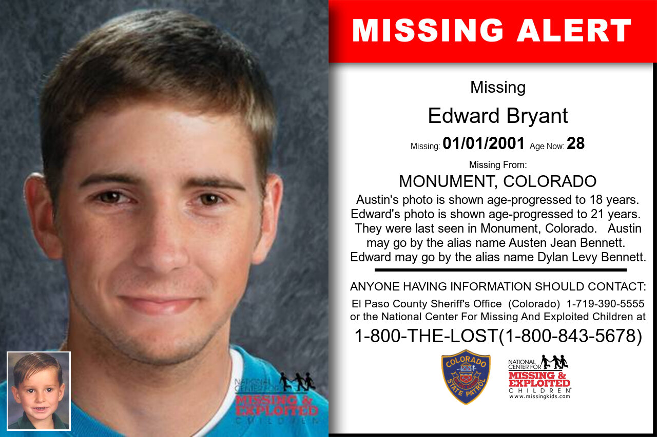 EDWARD_BRYANT missing in Colorado
