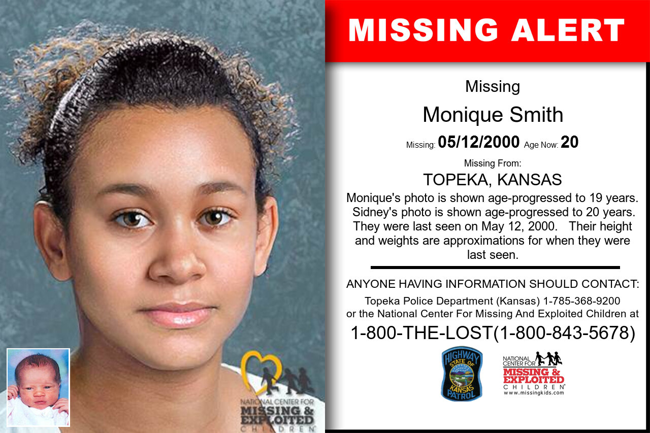 MONIQUE_SMITH missing in Kansas