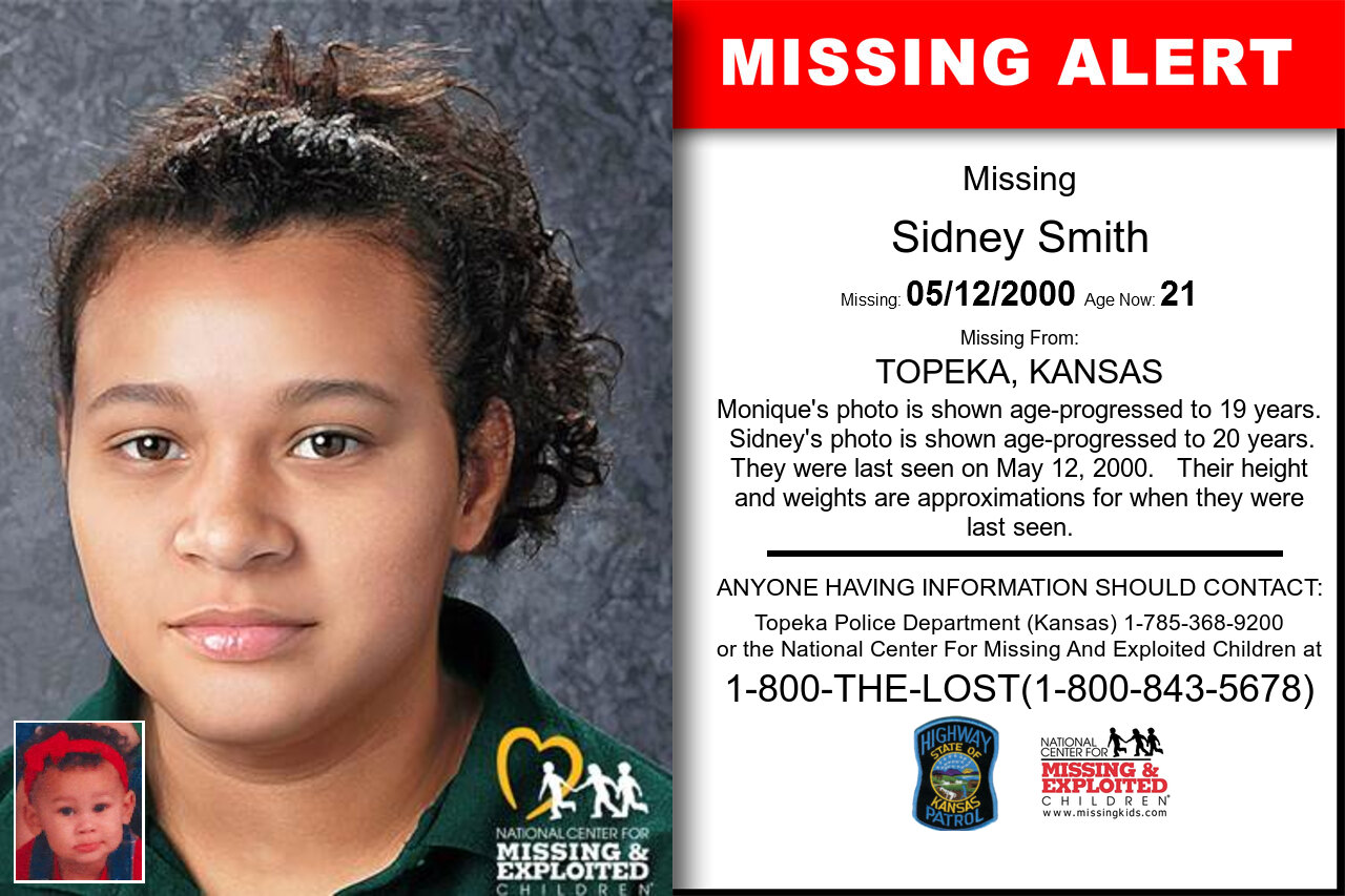SIDNEY_SMITH missing in Kansas