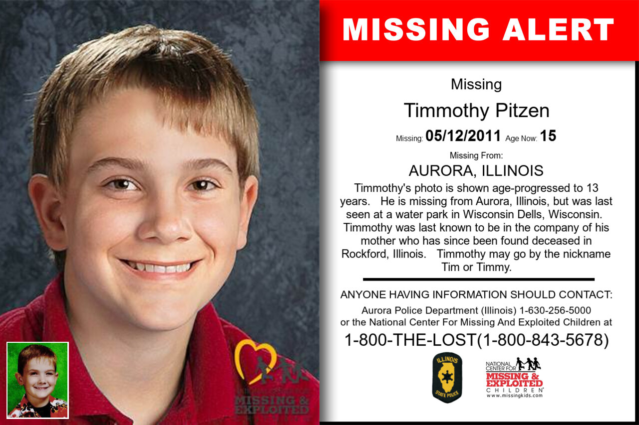TIMMOTHY_PITZEN missing in Illinois