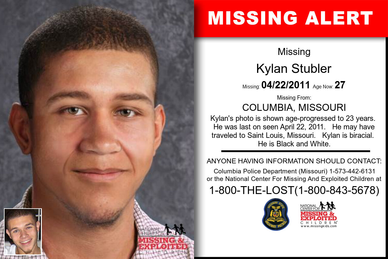 KYLAN_STUBLER missing in Missouri