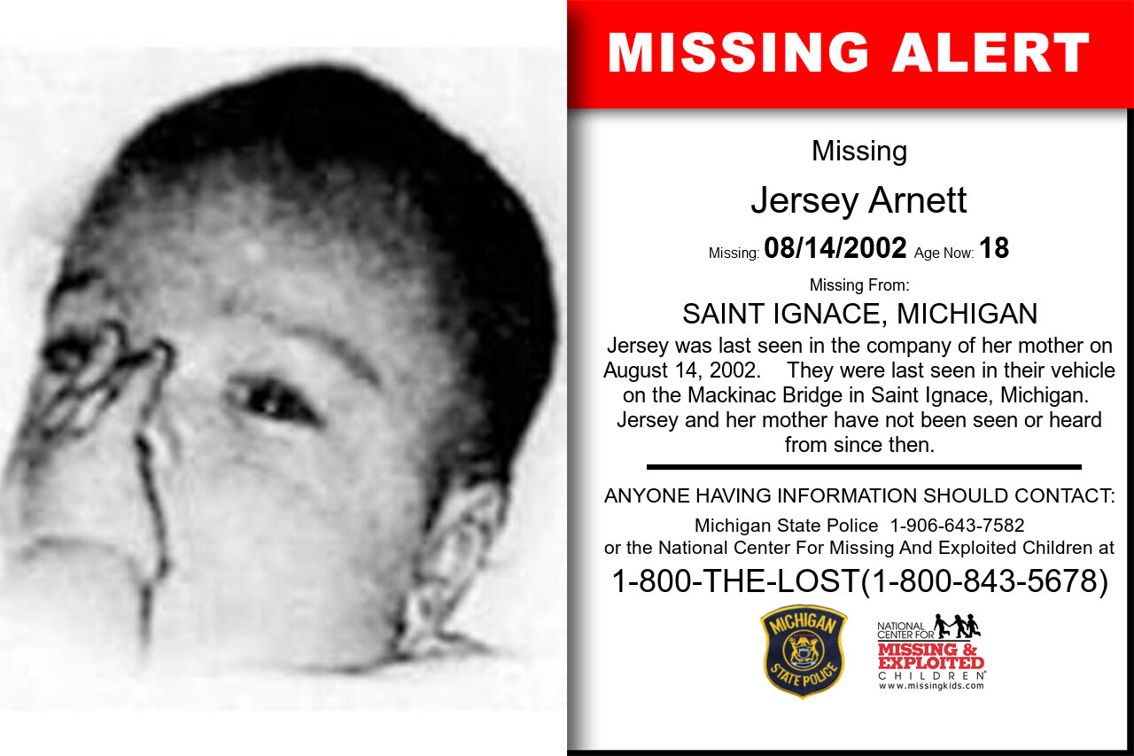 JERSEY_ARNETT missing in Michigan