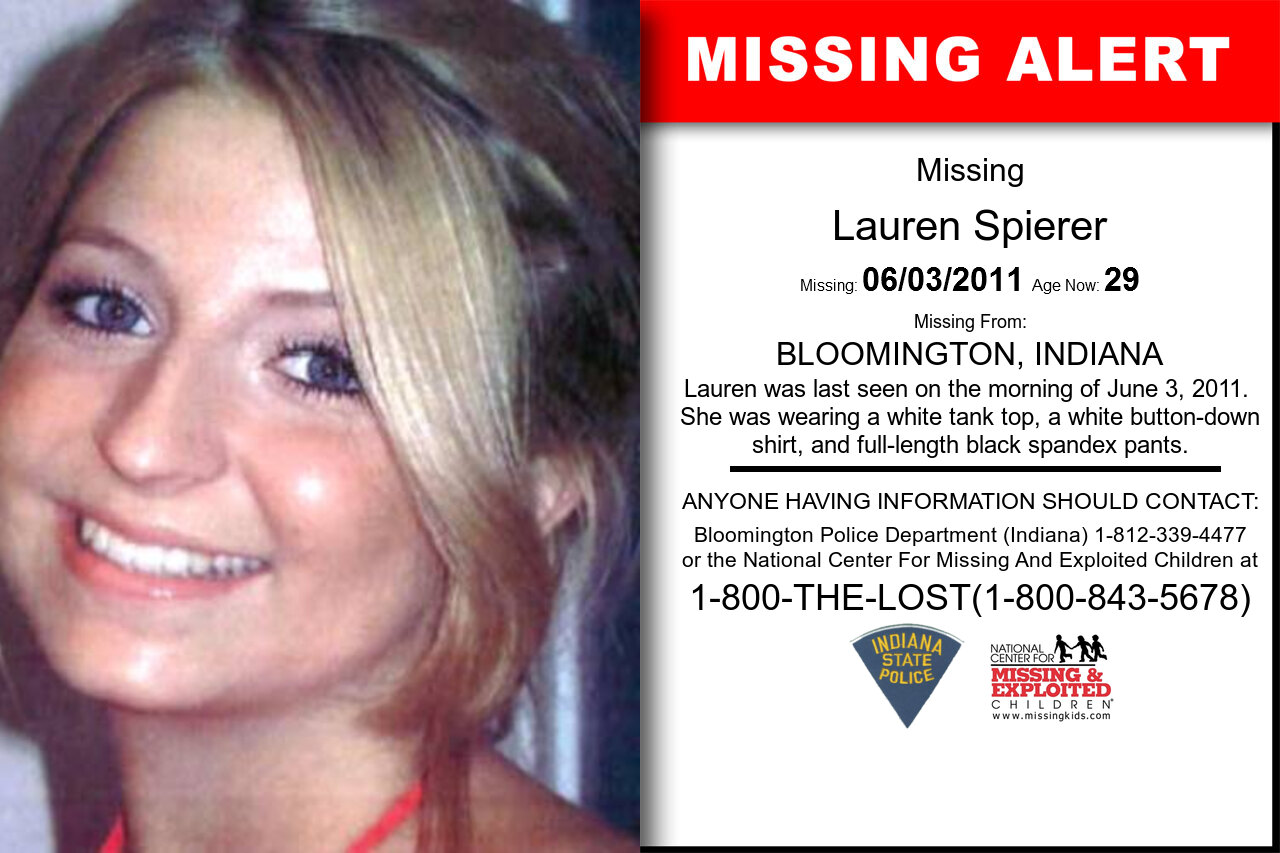 LAUREN_SPIERER missing in Indiana