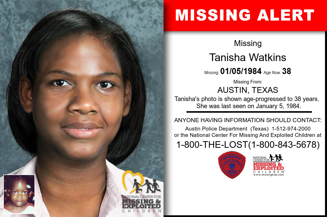 Tanisha_Watkins missing in Texas