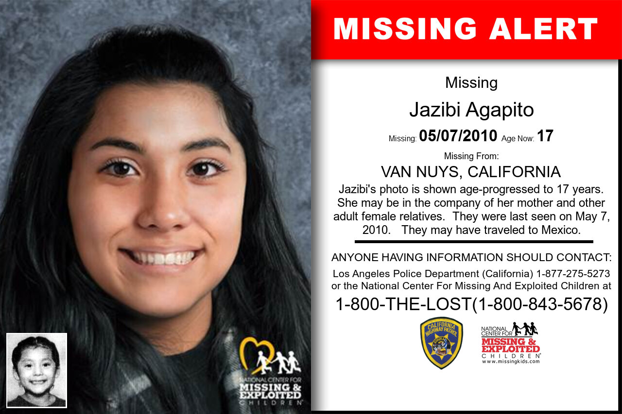 Jazibi_Agapito missing in California