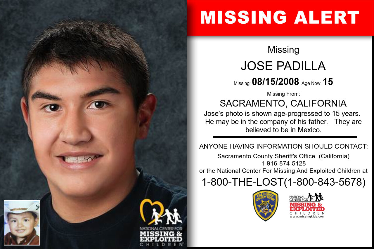 JOSE_PADILLA missing in California