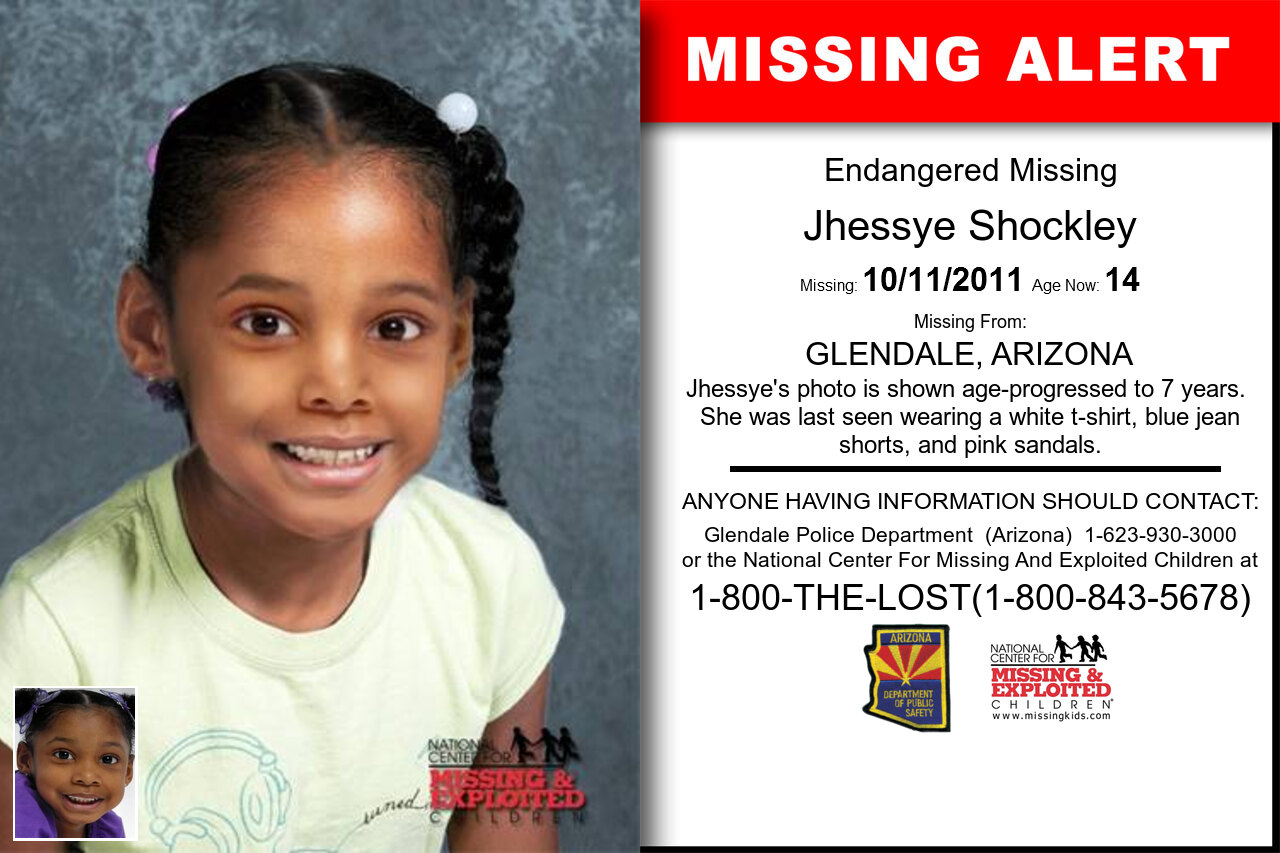 Jhessye_Shockley missing in Arizona
