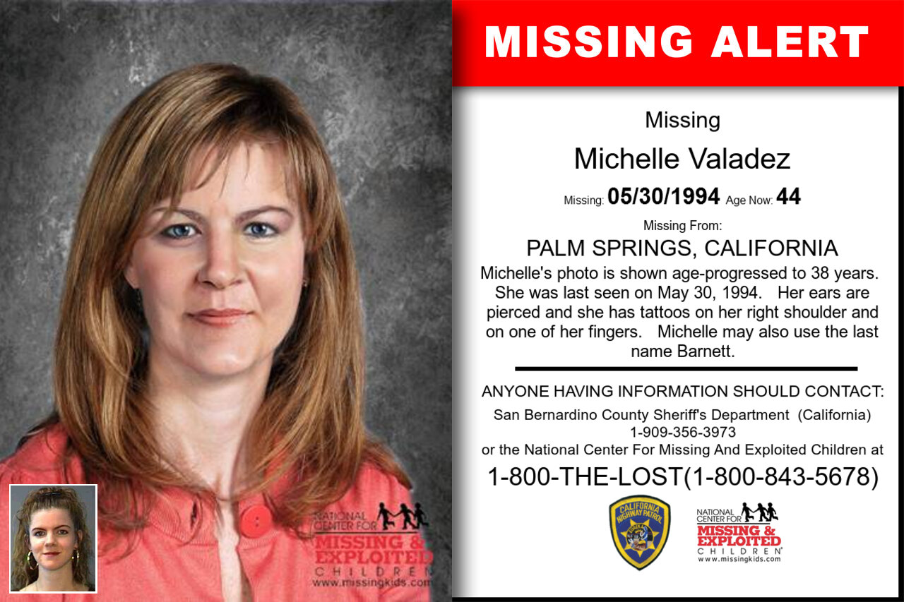 Michelle_Valadez missing in California