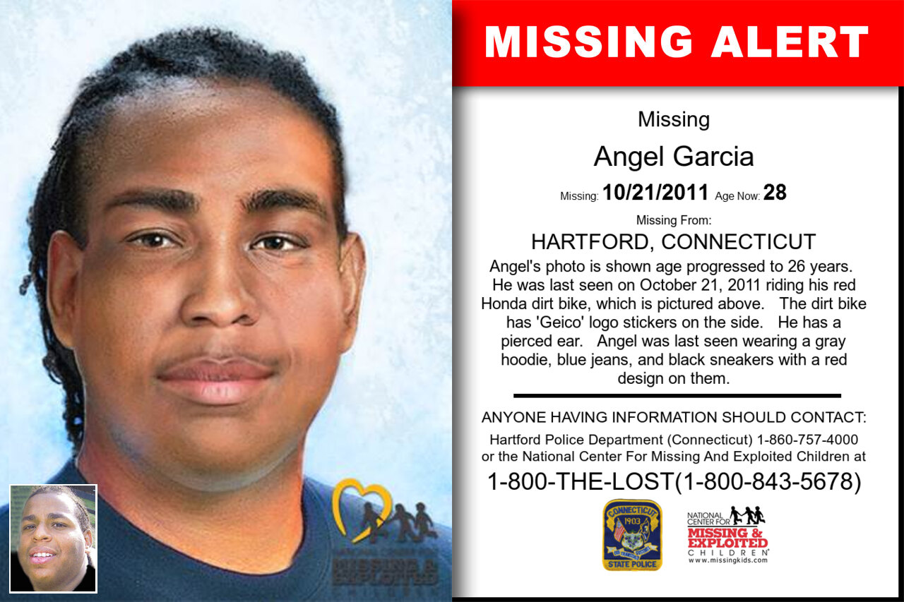 Angel_Garcia missing in Connecticut