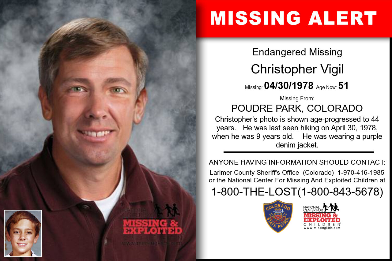 CHRISTOPHER_VIGIL missing in Colorado