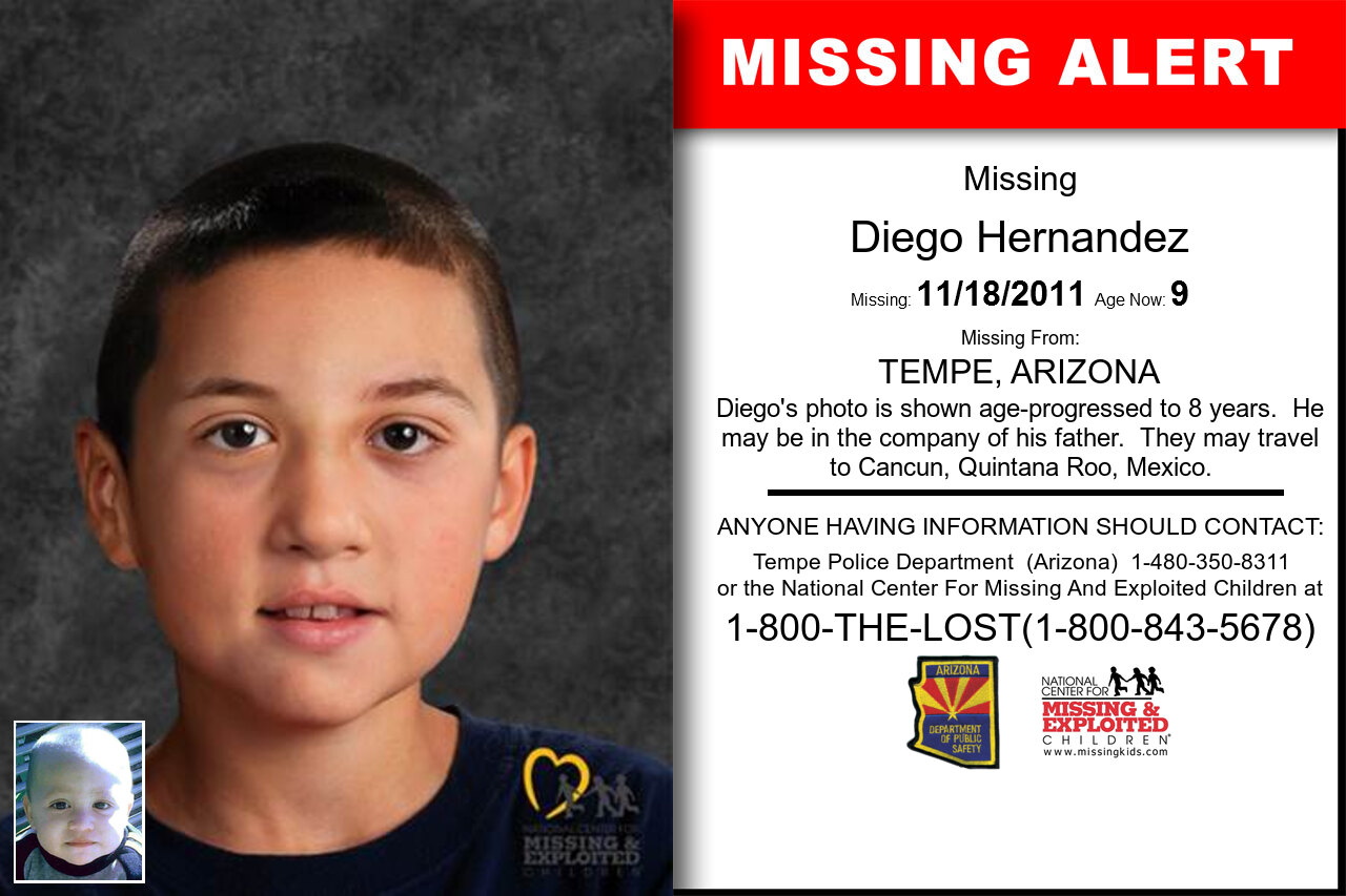 DIEGO_HERNANDEZ missing in Arizona