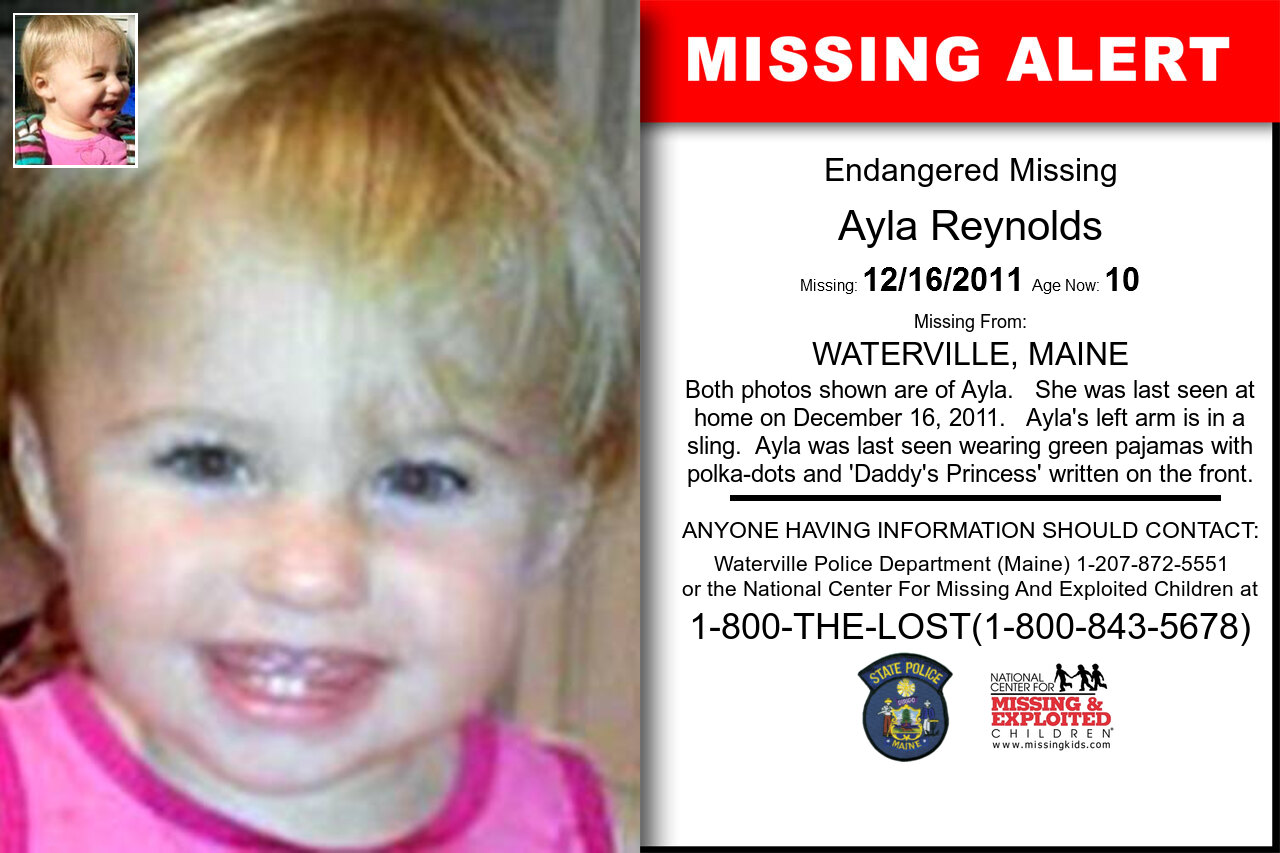 AYLA_REYNOLDS missing in Maine