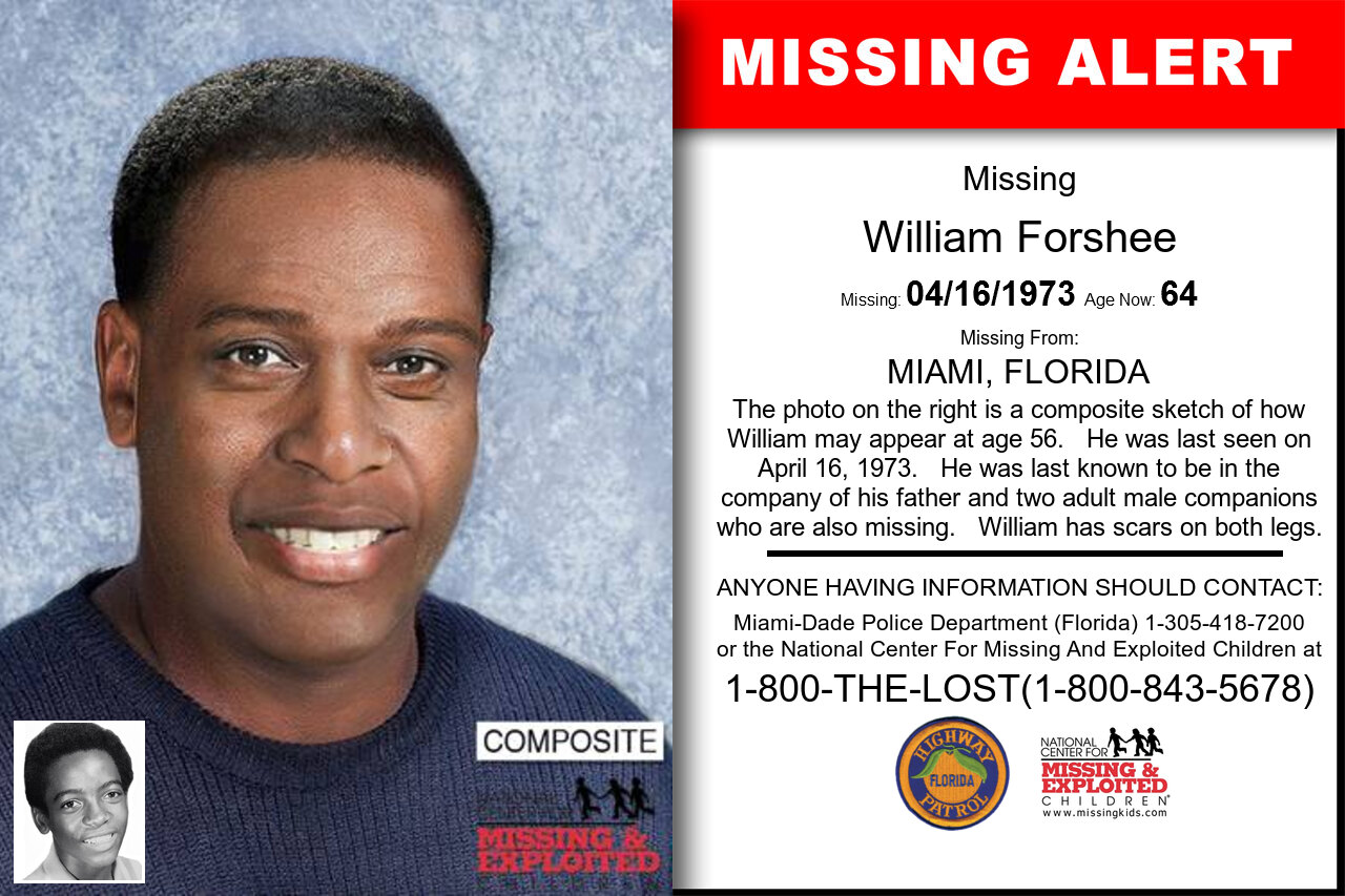 WILLIAM_FORSHEE missing in Florida