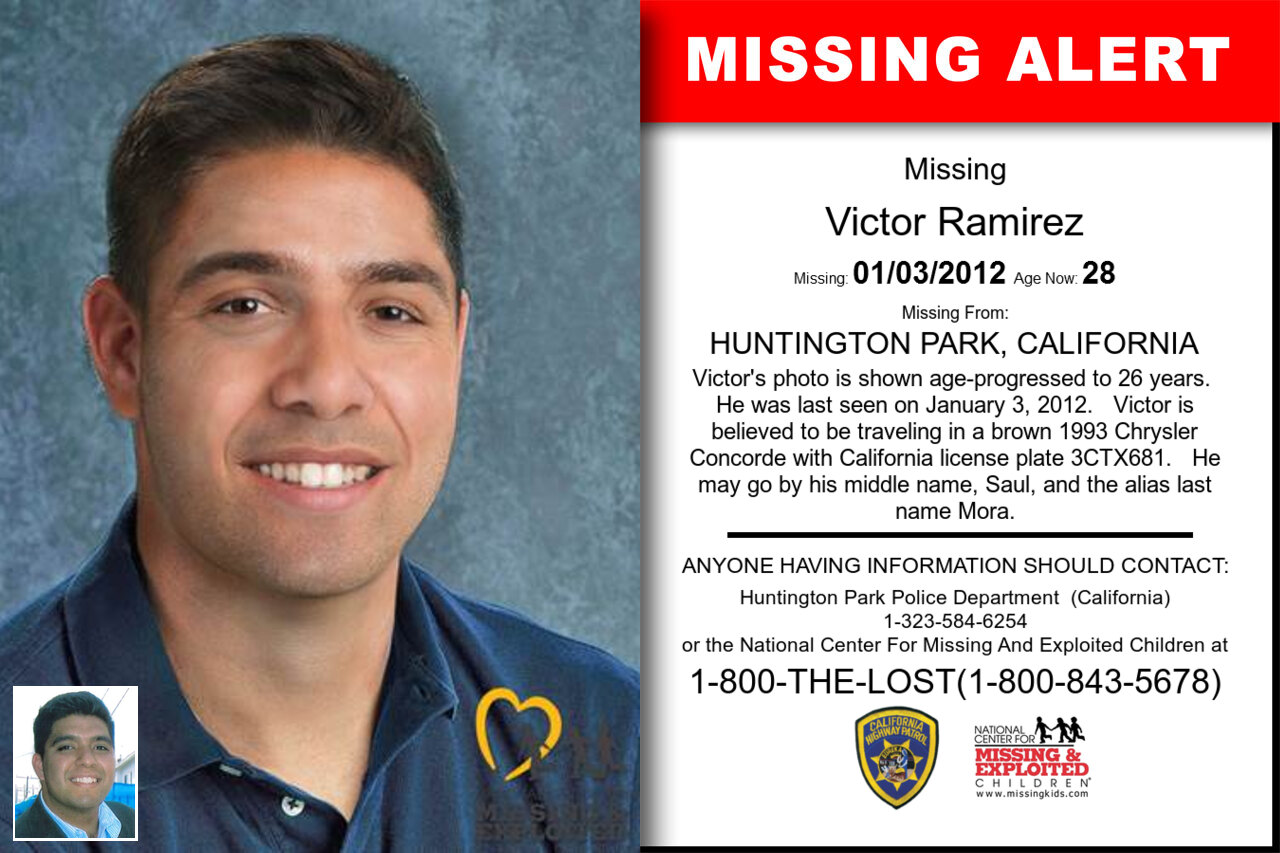 Victor_Ramirez missing in California