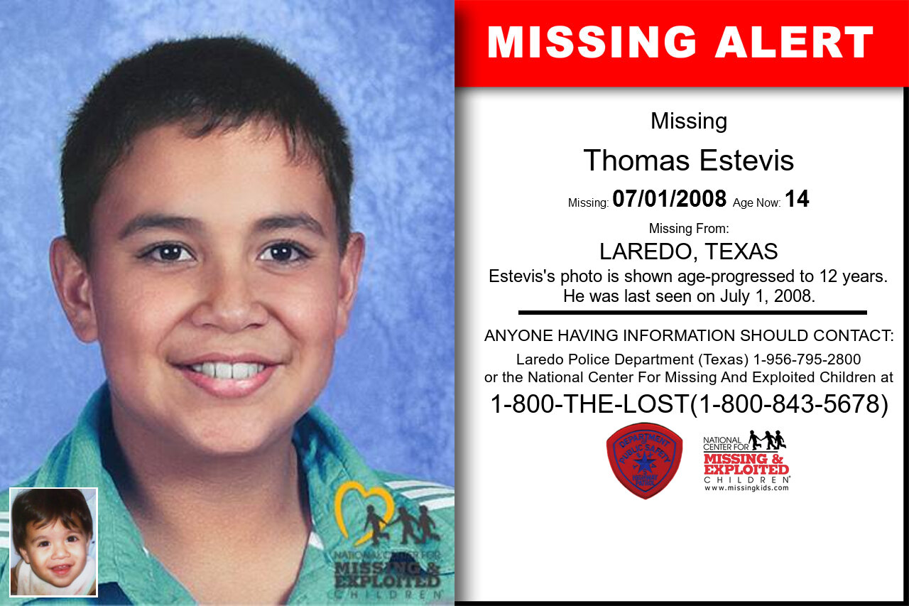 THOMAS_ESTEVIS missing in Texas