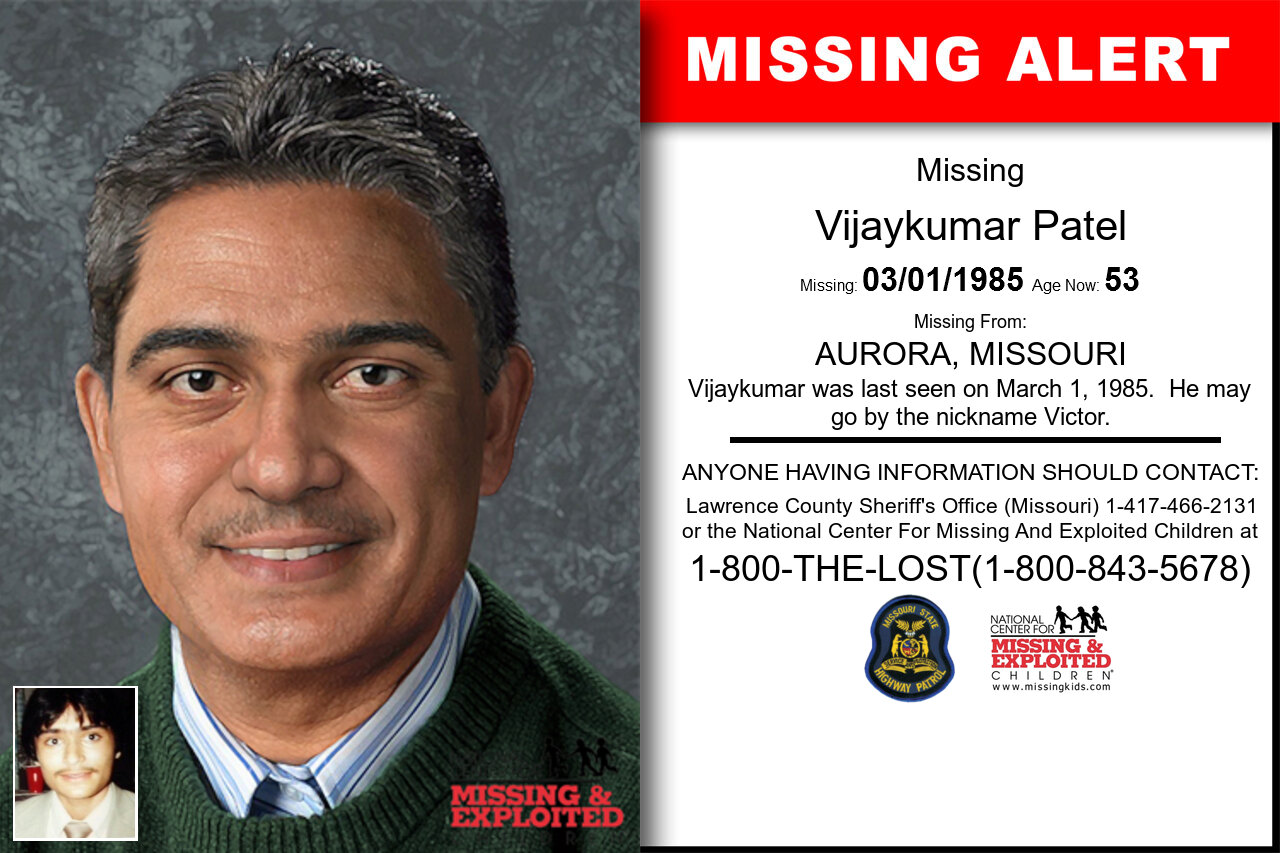 VIJAYKUMAR_PATEL missing in Missouri