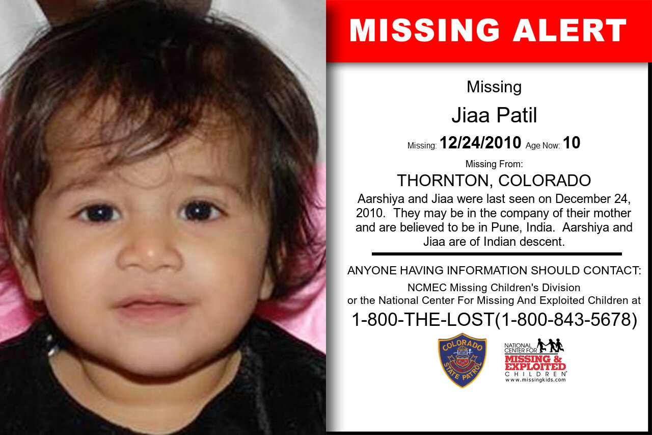 JIAA_PATIL missing in Colorado