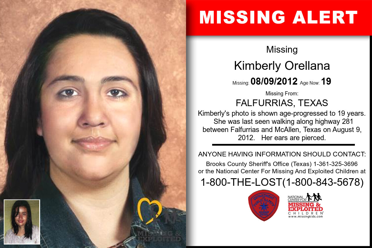 Kimberly_Orellana missing in Texas