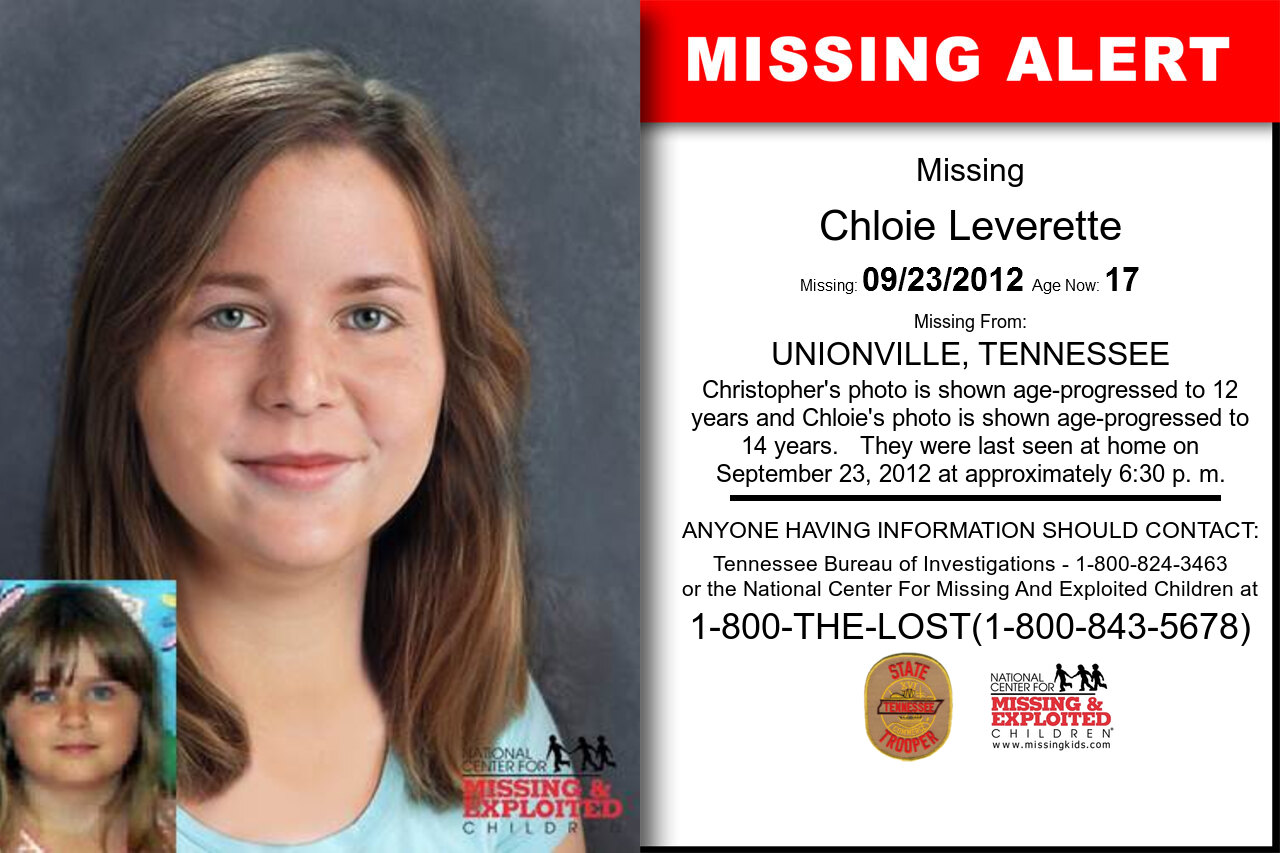 CHLOIE_LEVERETTE missing in Tennessee