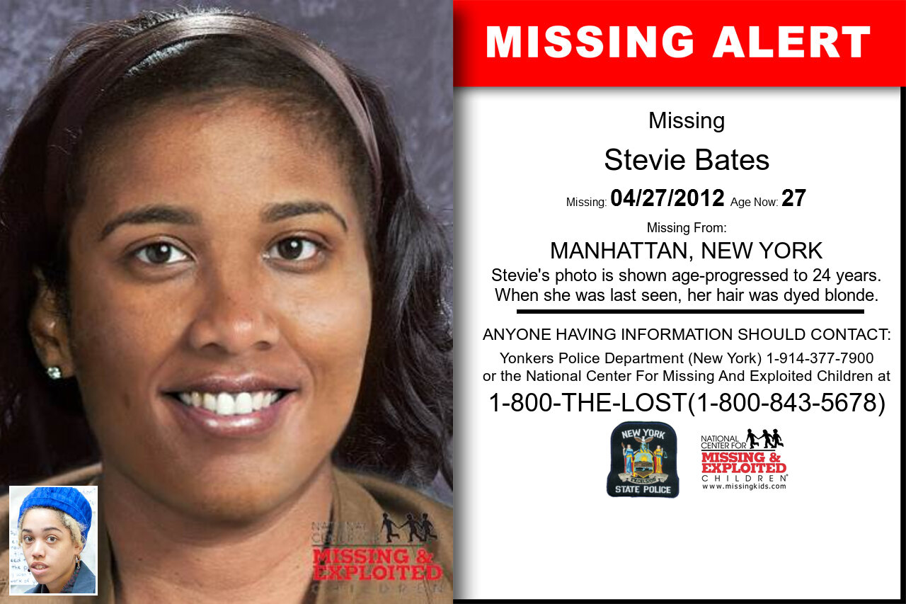 Stevie_Bates missing in New_York