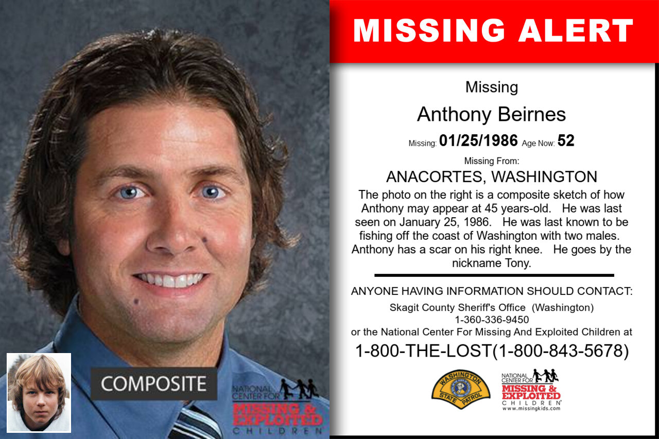 Anthony_Beirnes missing in Washington