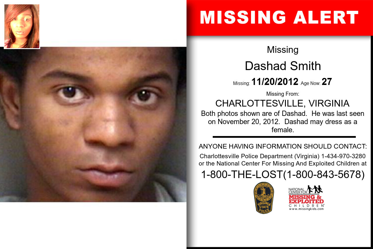 DASHAD_SMITH missing in Virginia