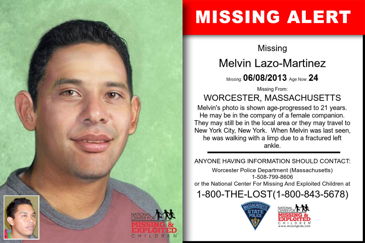 MELVIN_LAZO-MARTINEZ missing in Massachusetts
