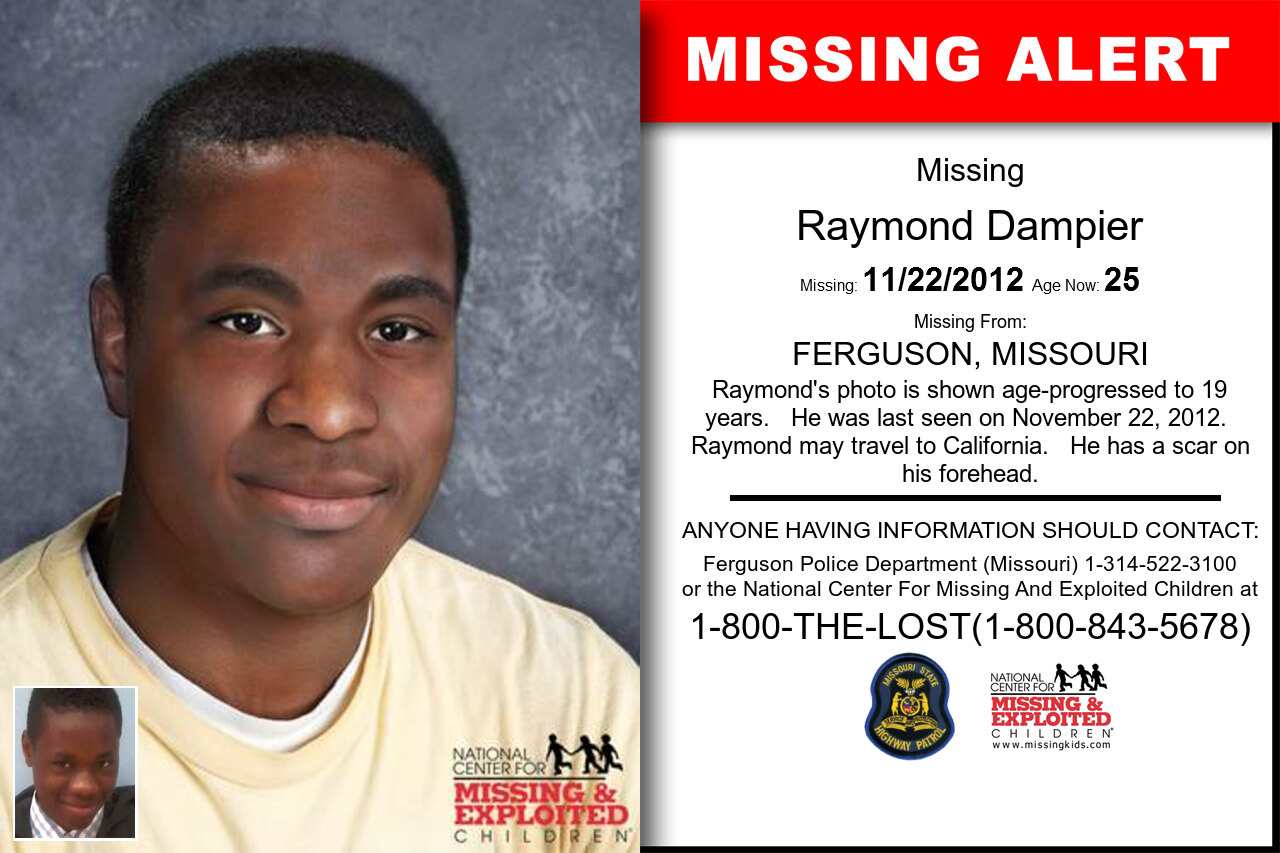 Raymond_Dampier missing in Missouri