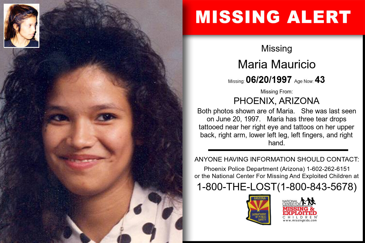MARIA_MAURICIO missing in Arizona