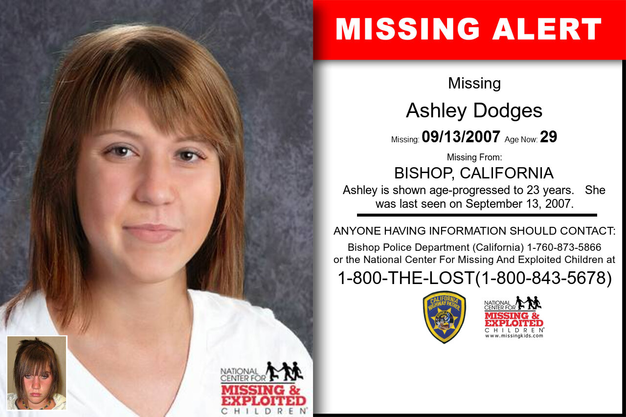 ASHLEY_DODGES missing in California