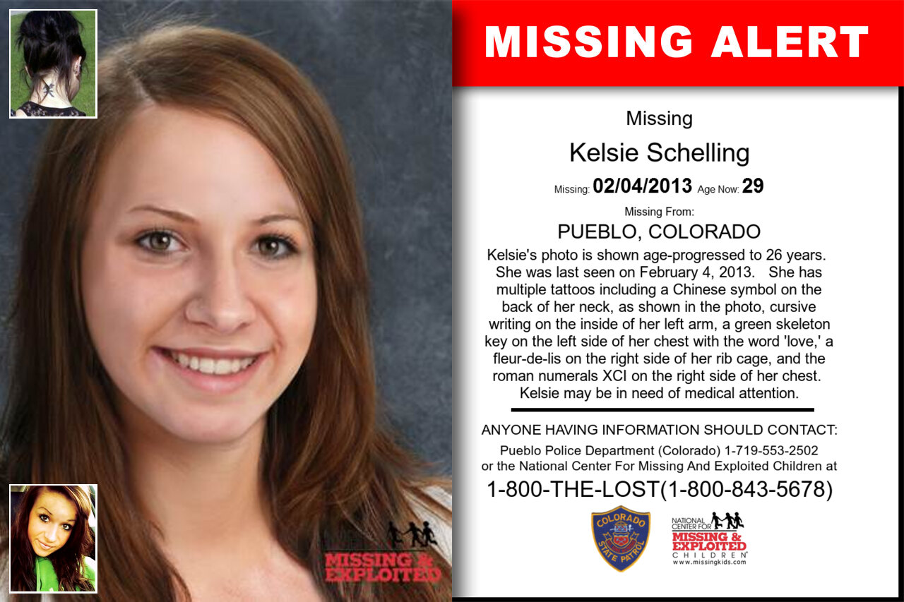 KELSIE_SCHELLING missing in Colorado