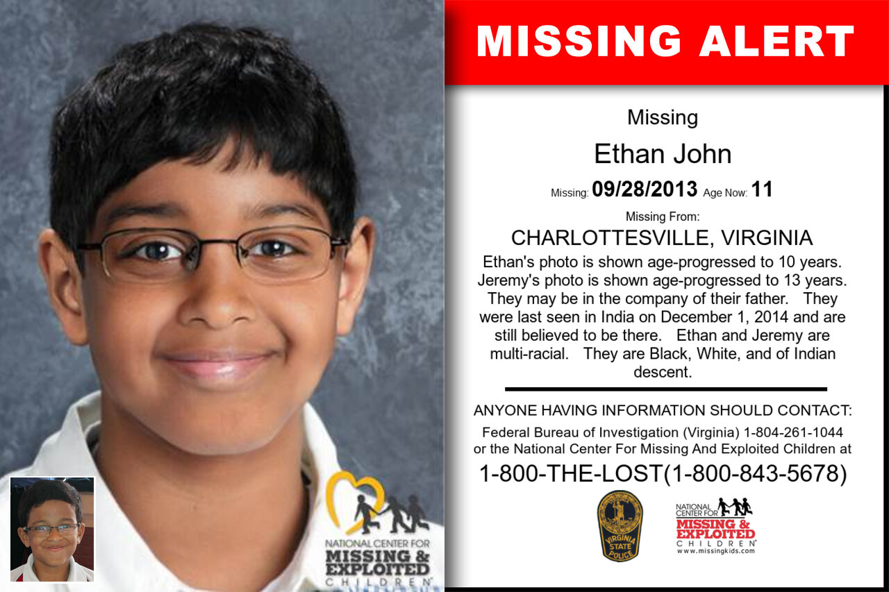 ETHAN_JOHN missing in Virginia
