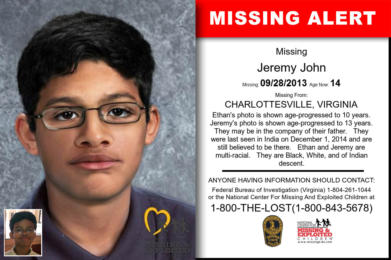 JEREMY_JOHN missing in Virginia
