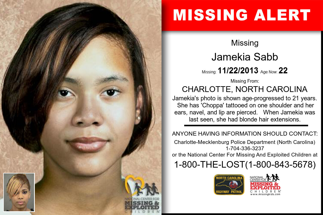 JAMEKIA_SABB missing in North_Carolina