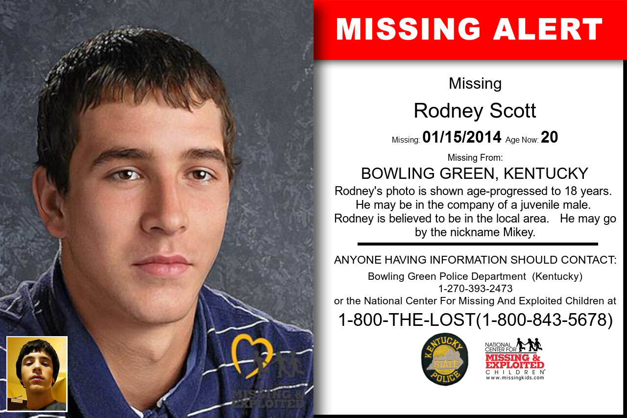 RODNEY_SCOTT missing in Kentucky