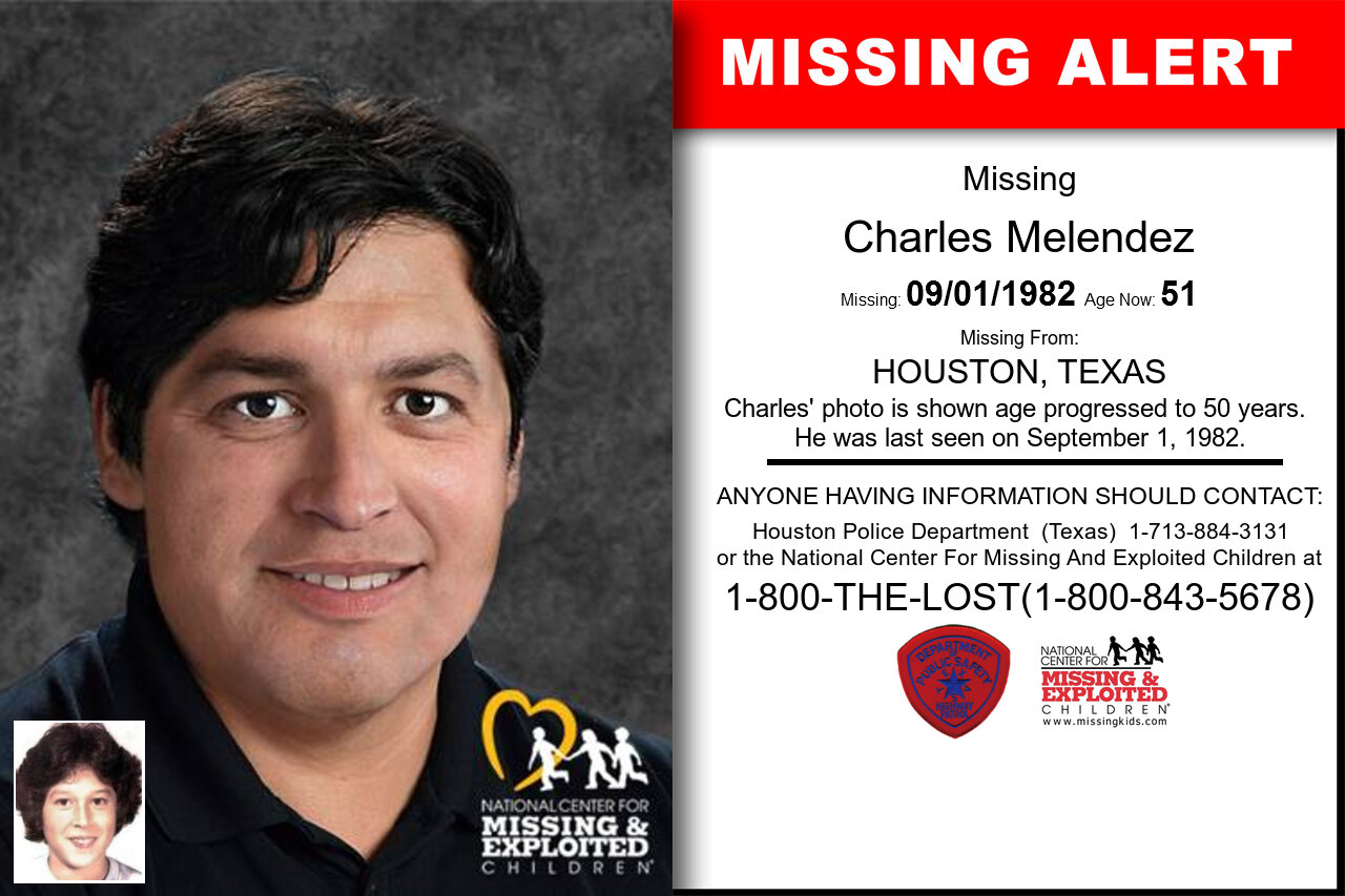 Charles_Melendez missing in Texas