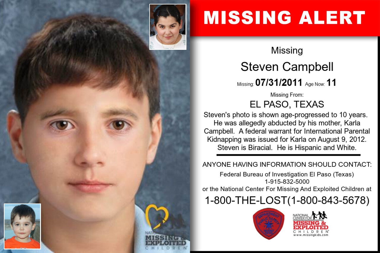 STEVEN_CAMPBELL missing in Texas